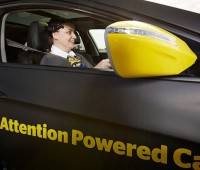 Attention Powered Car